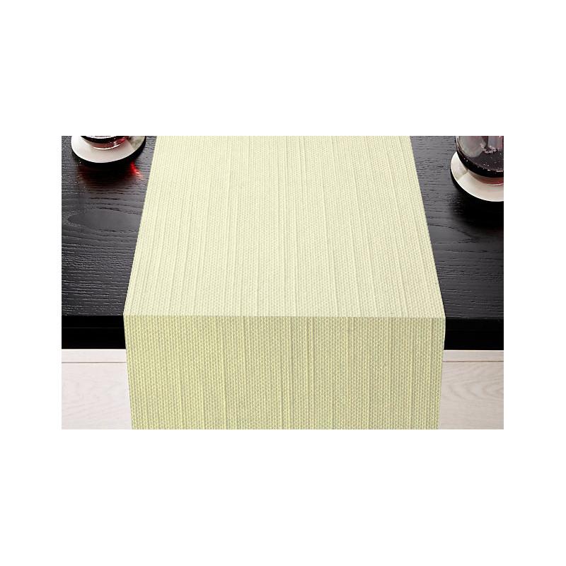 Lot de 5 chemins de table | Polycoton | 6 coloris | Aspect naturel