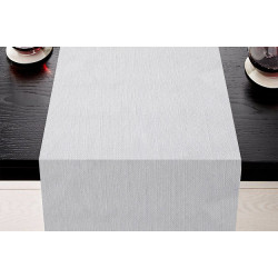 Lot de 5 Chemins de table uni aspect naturel - TUCSON - 45 x 110 cm