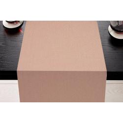 Chemin de table tissu couleur- SATEN POLYCOTON - 45x110 cm