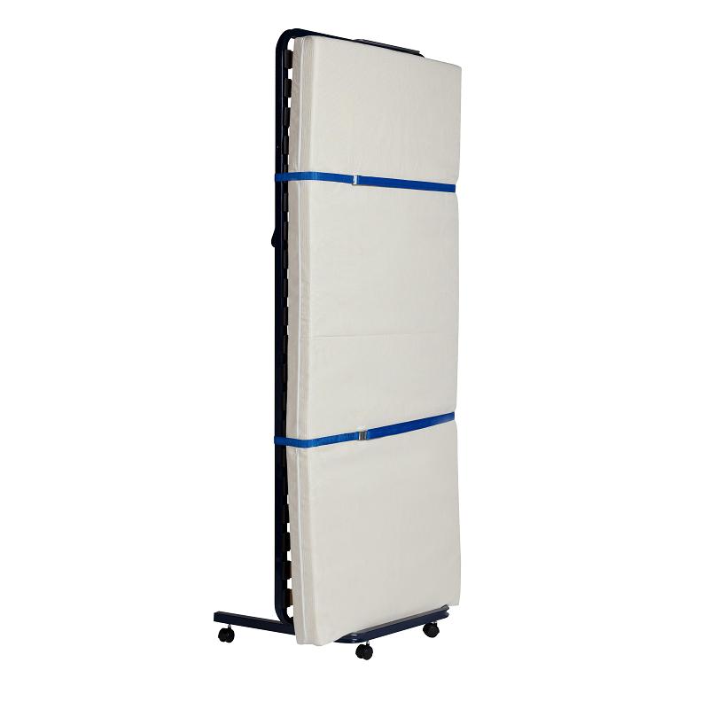 lit d appoint rangement vertical avec roulettes pour hotels et foyers
