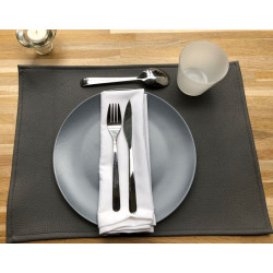 set-de-table-restaurant-simili-cuir-gris