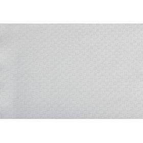 Nappe en polycoton faux uni jacquard 120 x 120 cm - TRIBECA - 240 gr/m²
