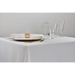 Nappage blanc ignifugé en 100% polyester - TOLGA - 270 gr/m²