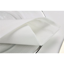 Serviette Milano 100% Polyester Blanc