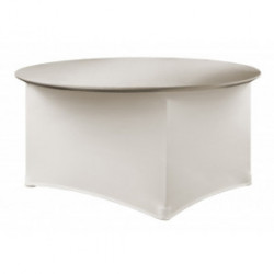 Housse de table - Premium Ronde