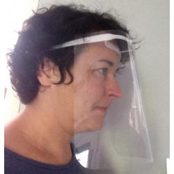 Visière de protection confortable à petit prix - Ecran facial léger