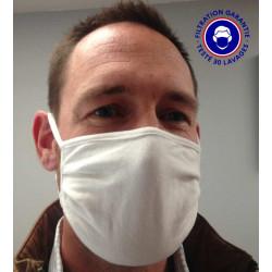 Kit de protection COVID19 - 2 masques UNS1 30 lavages + Visière