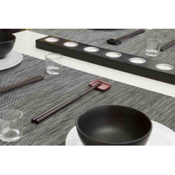 set-table-restaurant-lavable-raye-noir