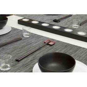 set-table-restaurant-lavable-raye-noir