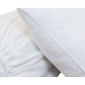 Protège oreiller 100% coton - COURLIS - 200 gr/m²