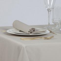 serviette-de-table-restaurant-satin-polycoton-beige