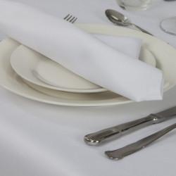 serviette-de-table-polycoton-blanc