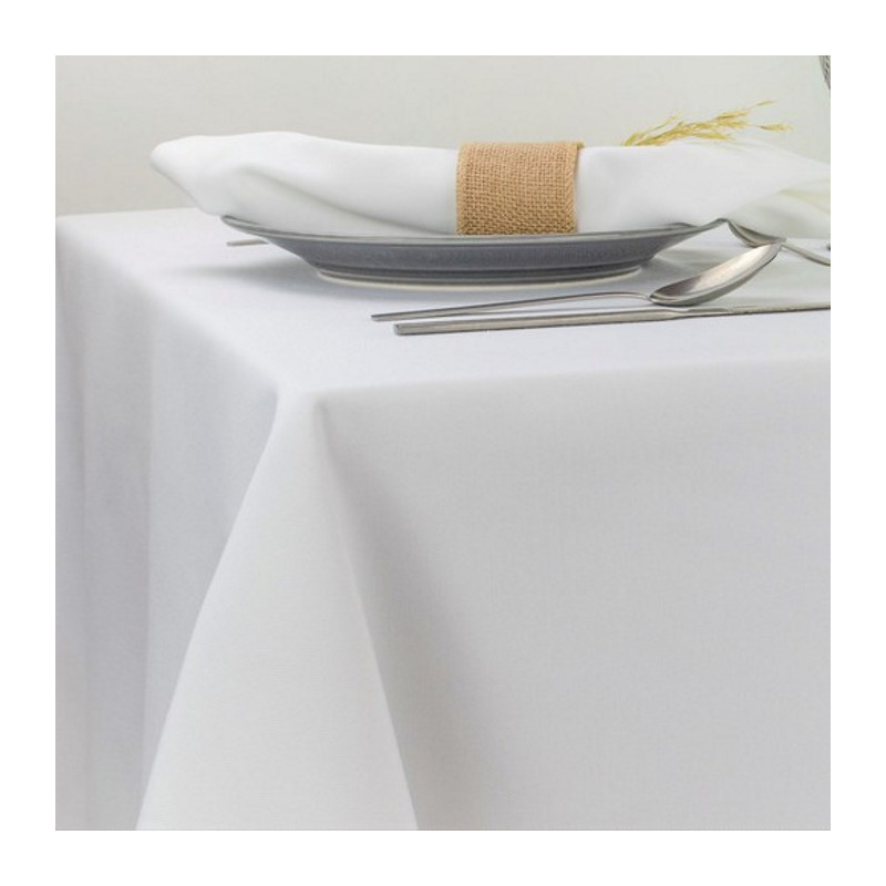 nappe-restaurant-blanche-polyester