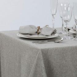 nappe-restaurant-en -polyester-chine-beige