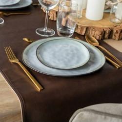 chemin-de-table-restaurant-imitation-cuir