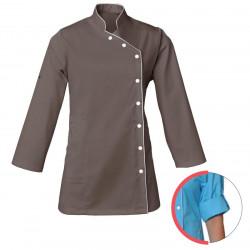 blouse-esthétique-bien-etre-taupe
