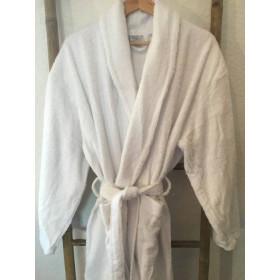 peignoir-hotel-eponge-blanc-col-chale-ceinture-protop