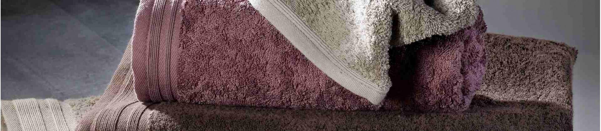 Linge de bain éponge couleur pour hôtels, collectivités et gîtes