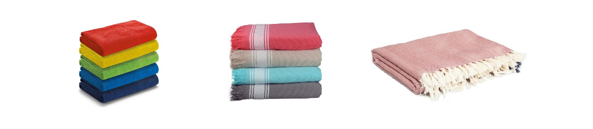 Draps et serviettes de plage et piscine pour hôtels