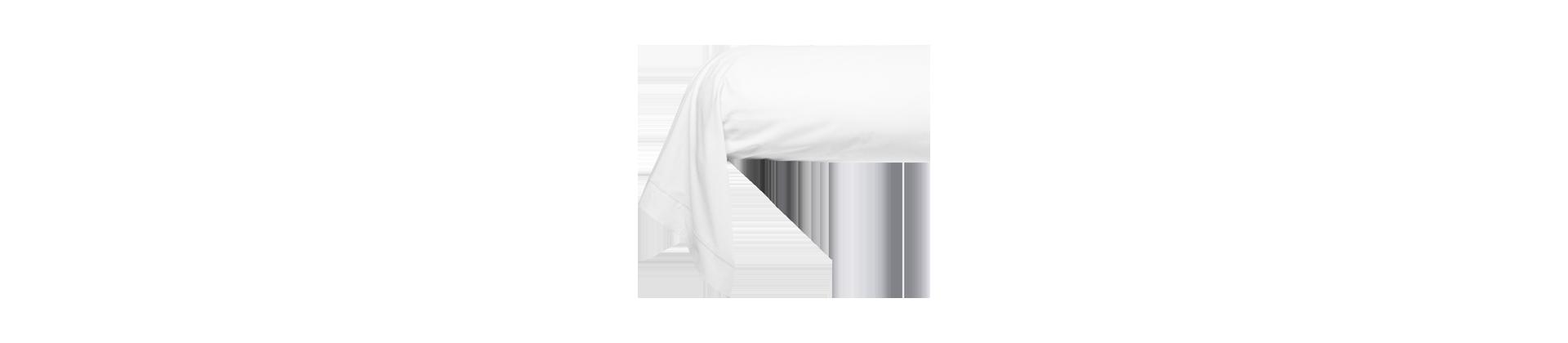 Taies de traversin blanches pour établissements hôteliers