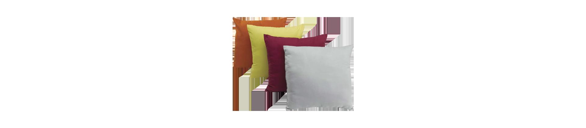 Taies d'oreiller couleurs pour établissements hôteliers