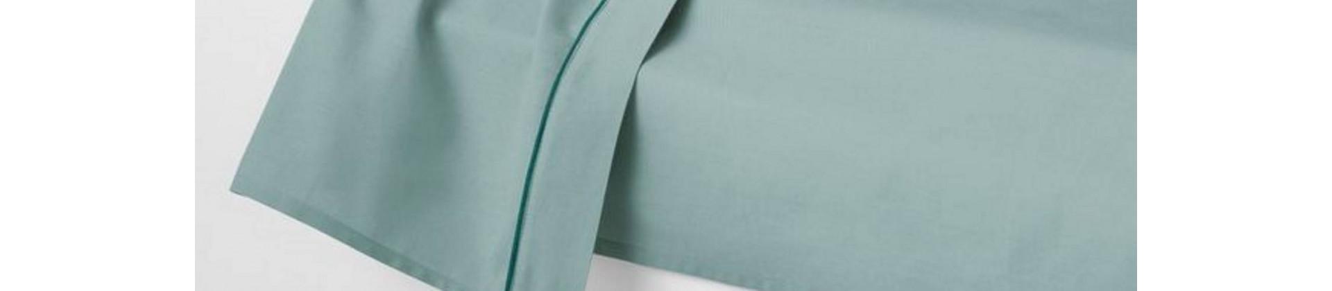 Draps plats couleur pour établissements hôteliers et collectivités