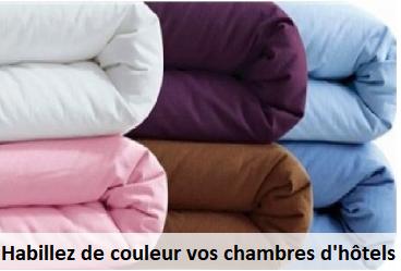 Le linge de lit couleur PROVENCE